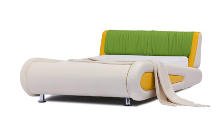 Kermit Kids Leather Bed