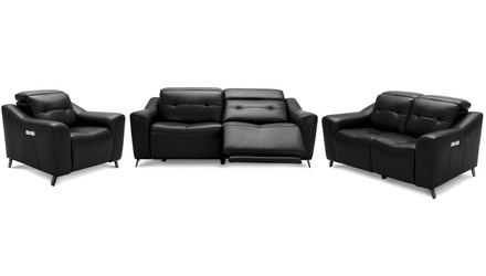 Linq Reclining Sofa Set with Chair