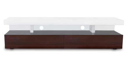 Mcintosh TV Stand - White and Ebony