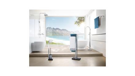 Menoto Toiletpaper Holder and Brush