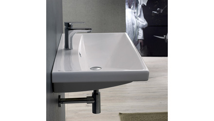 Elite Rectangle Ceramic 24 Inch Sink