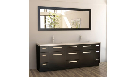 "Rissa 84"" Double Sink Vanity Set"