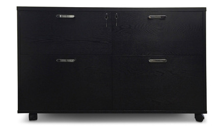 Warren Filing Cabinet - Black