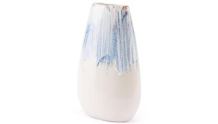 Ombre Medium Vase Blue & White