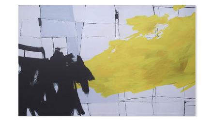 """Pantomime Canvas Art - 80"""" x 50"""""""