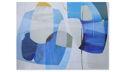 "Reflecting Horizons Canvas Art - 96 x 70"""