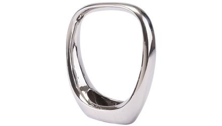 Ringo Oval Display Planter Medium Silver