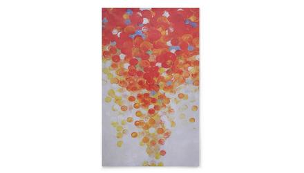 """Scarlet Tempest Canvas Art - 80"""" x 50"""""""