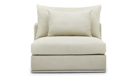 Soriano Armless 1.5 Seater - Beige