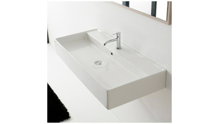 Teorema Wall Mounted - 1 Hole Sink