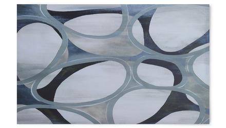 """Veiled Introspection Canvas Art - 80"""" x 50"""""""