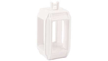 White Japanese Lantern Candle Holder Small