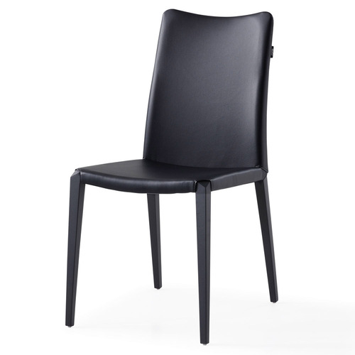 Jordan Dining Chair - Black Steel