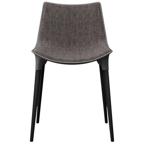 Lamya Chair - Charcoal on Black Oak