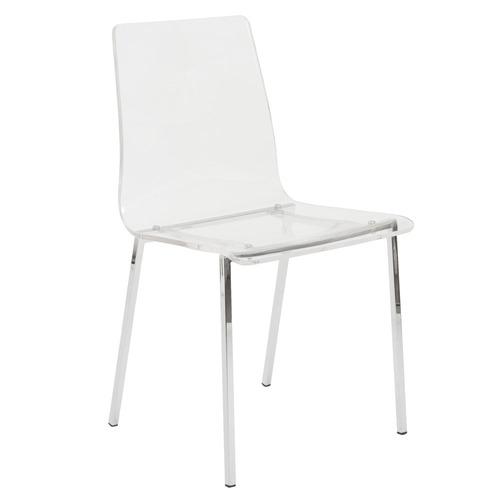 Sia Acrylic Side Chair - Set of 4
